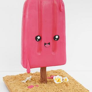 Anti-Gravity Kawaii Ice Lolly Cake