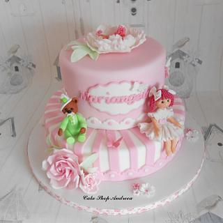 Mariangela christening cake