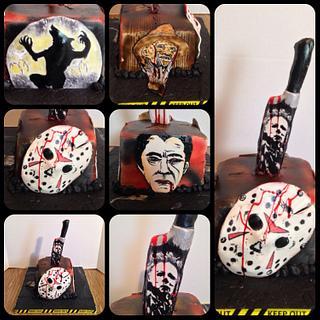 Horror movie cake