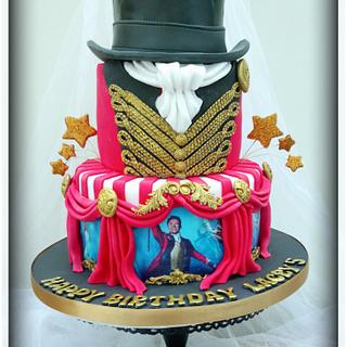 Greatest showman cake