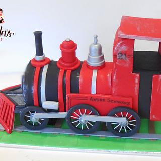 Train Cake Topper - Cake by Nada