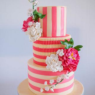 Ivory and Rose Pink Wedding
