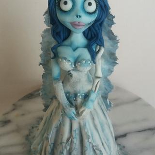 Corpse Bride doll cake
