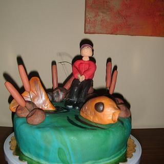 Fisherman Cake - Cake by Unsubscribe
