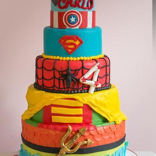 #avengers #cake