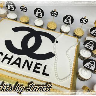 Chanel Cake & Cupcakes - Cake by lanett