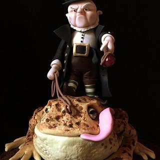 El duende de los sapos - Cake by Sweetness Maker