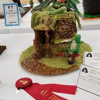 National Capital Area Cake Show Submission - Cake by Cakes Abound