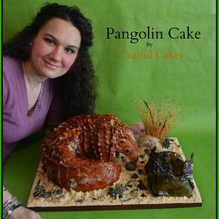 Pangolin cake