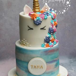 Unicorn Sprinkle Cake