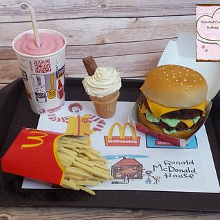 Mcdonalds big mac meal!