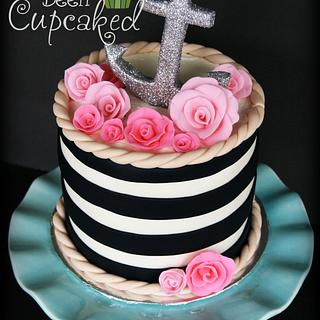 Anchors Aweigh  - Cake by You've Been Cupcaked (Sara)
