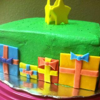 Christmas tree cake - Cake by Vero