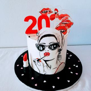 Beautician's cake - Cake by alenascakes