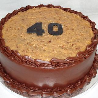 German Chocolate cake - Cake by Kim Leatherwood