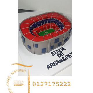 stadium cakes