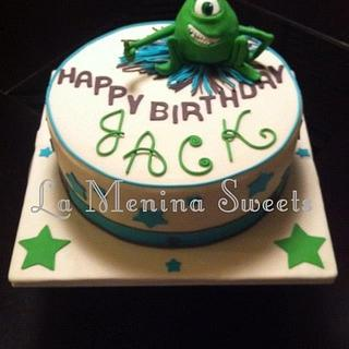 A Monster of a 1st Birthday - Cake by Cristi