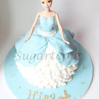 Cinderella Princess Doll cake
