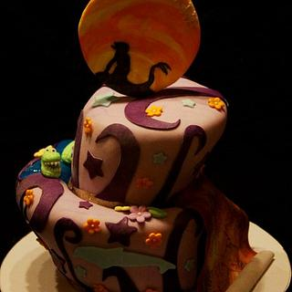 Mysterious Finding Neverland Cake