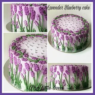 Lavender blueberry cake - Cake by Dr. Angelique Vikram Goel