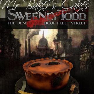 Sweeney Todd Cake - Cake by Mr Baker's Cakes