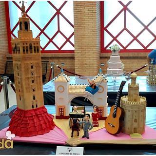 Sevilla se viste de feria (Seville Feria dresses) - Cake by desdeazucar by Eva y José Carlos