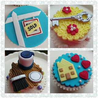New Home Celebration Cupcakes