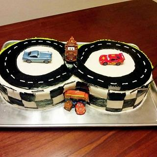 Cars 2 Cake - Cake by Jacie Mattson