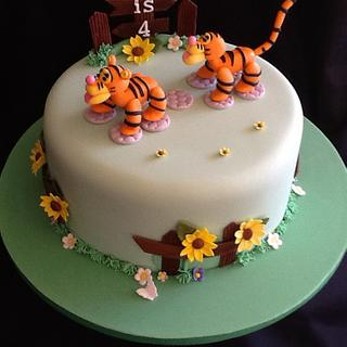 Two tigers cake...