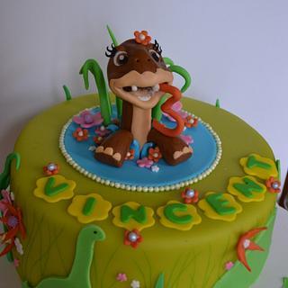 Dinosaurecake, Littlefoot - Cake by Stheavenstreet