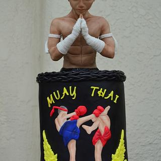 Sport Cakes for Peace Collaboration : Muay Thai ( Thai boxing).