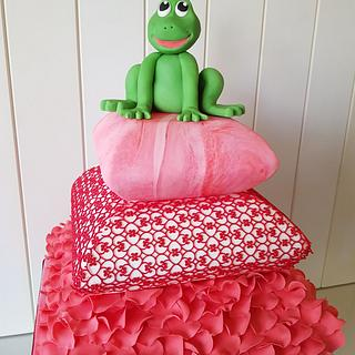 CPC Valentines Collaboration - Frog Prince