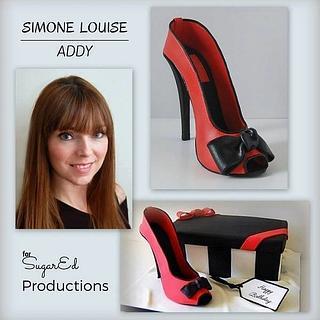 High Heeled SHoe and Shoe Box - Cake by Sharon Zambito