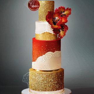Wedding Cake By Purbaja B Chakraborty