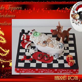 Sweet christmas collaboration Relaxing Santa