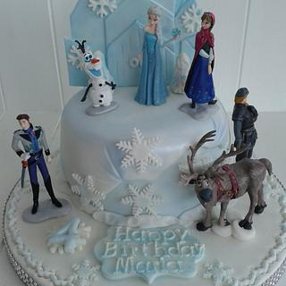 Frozen delight - Cake by SweetCakeaholic1