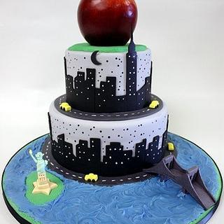 Big Apple - Cake by Berliosca Cake Boutique