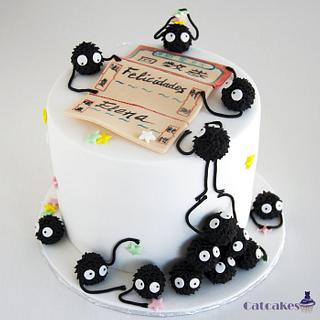 Spirited Away - Susuwatari Cake