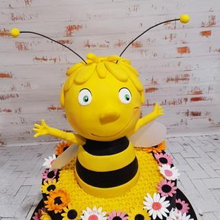 Happy Bee - Cake by Hilz