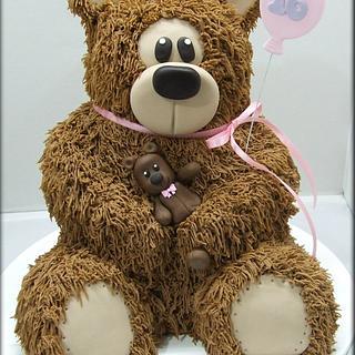Brown Shaggy Bear