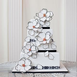 Temperley of London-Inspired Cake
