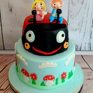 Ben and Holly birthday cake - Cake by natasa bakes cakes