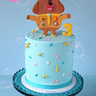 Hey Duggee Cake - Cake by Love Cake Create