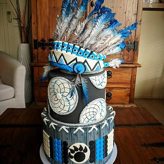 First Nation Cake/Native Indian Cake