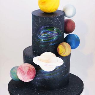 Planetary Cake - Cake by Othonas Chatzidakis
