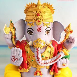 Lord Ganesha cake from india🙏