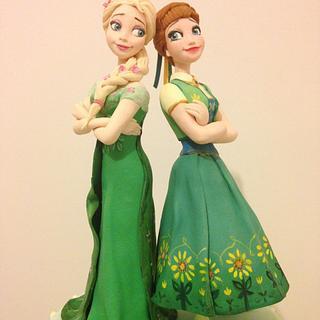 Elsa e Anna Fever
