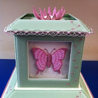 Butterfly  Flange cake