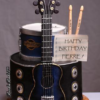 Marvelous Musician  - Cake by Shanita