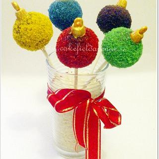 Colourful Xmas Baubles